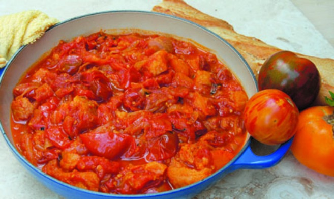 Old Fashioned Stewed Tomatoes Recipe Edible Piedmont