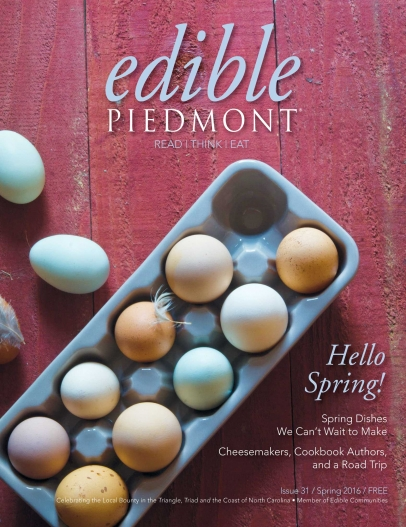 Spring 2016 Issue Piedmont cover