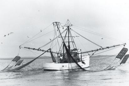 Fishermen on the North Carolina coast