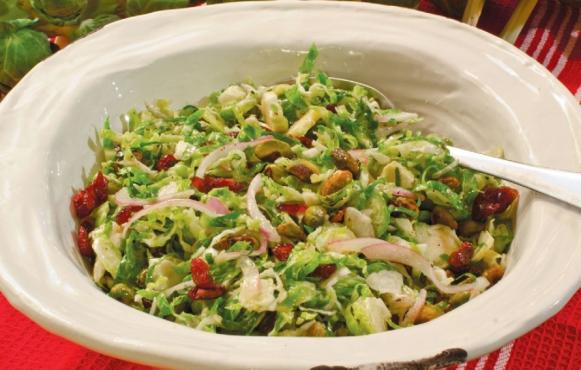 vegan shaved salad